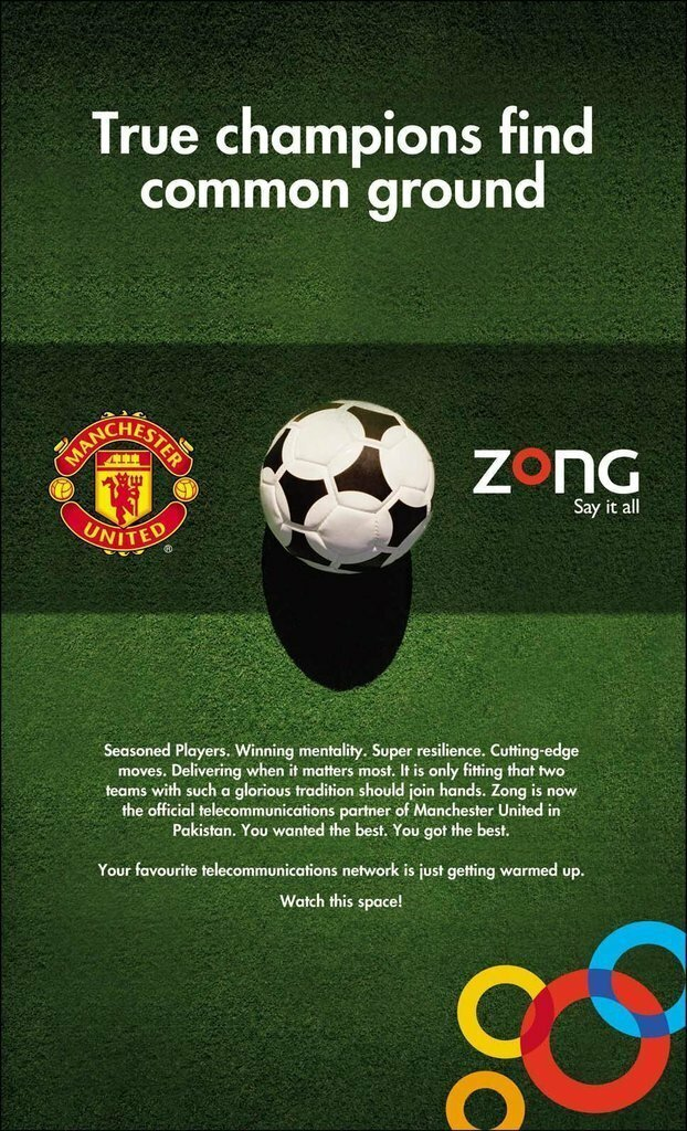 zong manchester uited