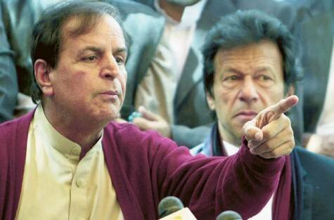 Javed Hashmi joins pti