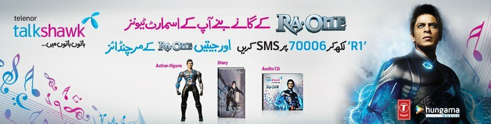Telenor Talkshawk Ra One Fever