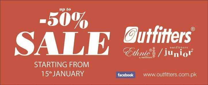 Outfitters Winter Collection Sale upto 50%