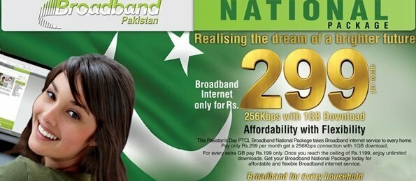 PTCL Broadband (DSL) as low as Rs. 299 Monthly