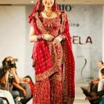 Jana Malik in bridal dress