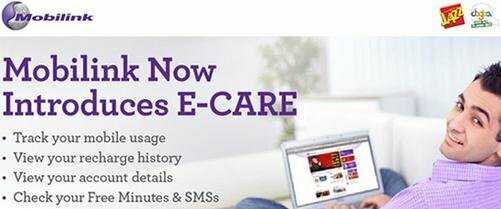 Mobilnk E-Care Portal services