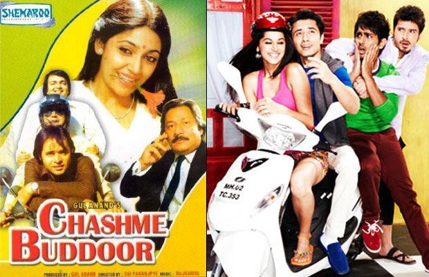 Old-Chashme-Buddoor-poster-& new Chashme badoor