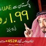 Mobilink Saudi Arabia & UAE Offer Call at Rs 1.99+Tax/15 sec