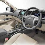 Toyota Fortuner Interior 2013