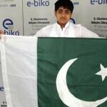 Abdullah Abid won International Award for Pakistan