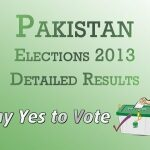 Election 2013 Pakistan Detailed Results