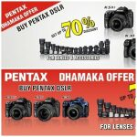 Pentax Pakistan-Ricoh Company 70% Off Offer