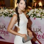 Celebrity at LuxStyle Awards 2013 Red Carpet Amna Sheikh