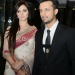 Celebrity at LuxStyle Awards 2013 Red Carpet Atif & Sara