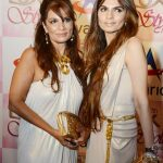 Celebrity at LuxStyle Awards 2013 Red Carpet Fariha & Shela