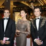 Celebrity at LuxStyle Awards 2013 Red Carpet Kuki, Rabia, Ali