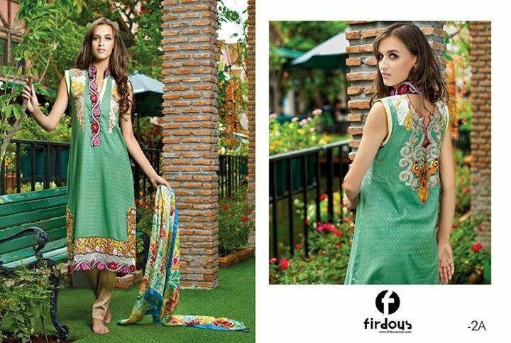 Latest Eid Lawn Collection by Firdous