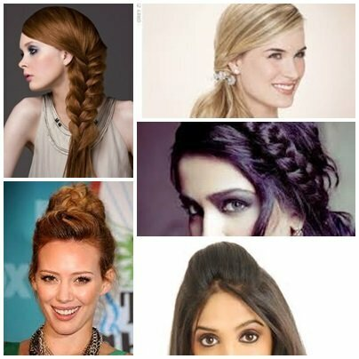 Simple Easy Hairstyle For This Eid Web Pk
