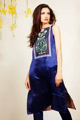 Silk by Fawad Khan Latest Dress 2013 Available for Rs.16,500