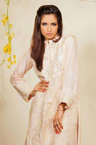 Silk by Fawad Khan Latest Dress 2013