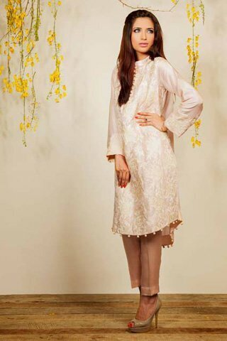 Silk by Fawad Khan Latest Dress 2013 Available for Rs.10,500