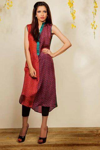 Silk by Fawad Khan Latest Dress 2013 Available for Rs.7,500