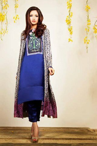 Silk by Fawad Khan Latest Dress 2013 Available for Rs.16,000