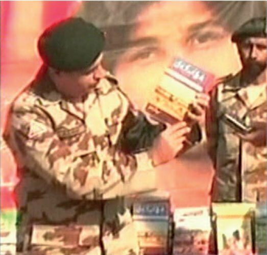 Anti-Pakistan Material Recovered in Baluchistan