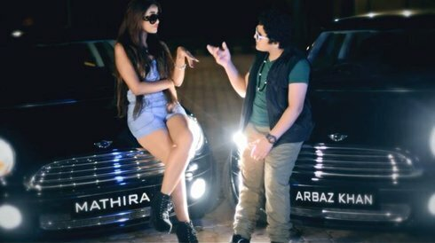 Mathira and Arbaz Khan in Jhoota