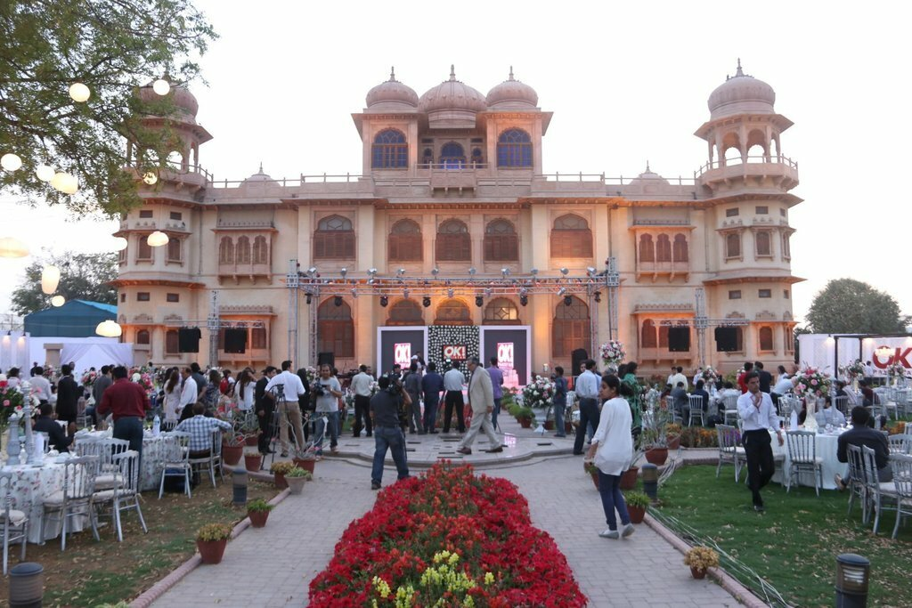 The resplendent Mohatta Palace at Launch of OK Magzine