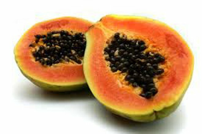 Fruits Skin treatments in summer with Papaya