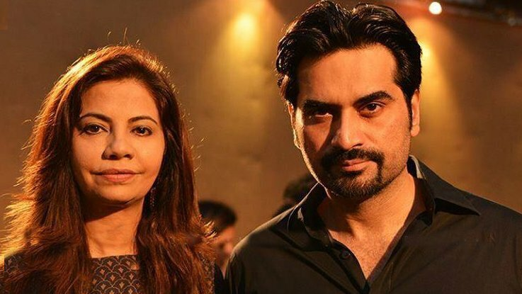 Humayun Saeed and Ushna Shah have publicly denied the news of their rumor <b>...</b> - Samina-Humayun-and-Humayun-Saeed