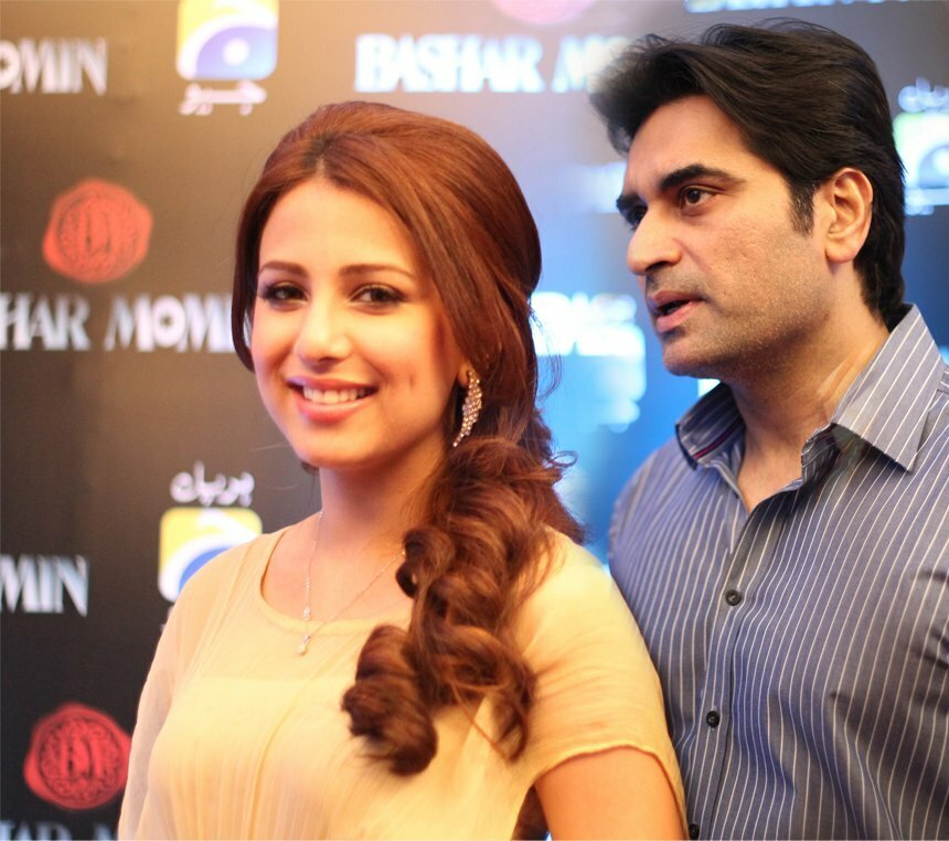 Ushna Shah and Humayun Saeed Together