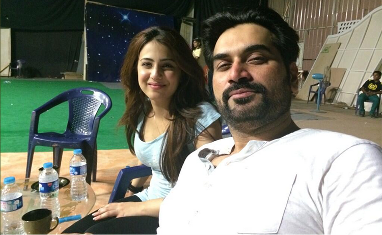 Ushna and Humayun Saeed