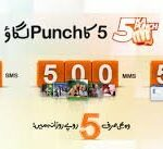 Ufone 5 Ka Punch Offer