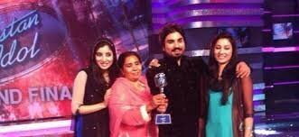 Zamad Baig with his Family