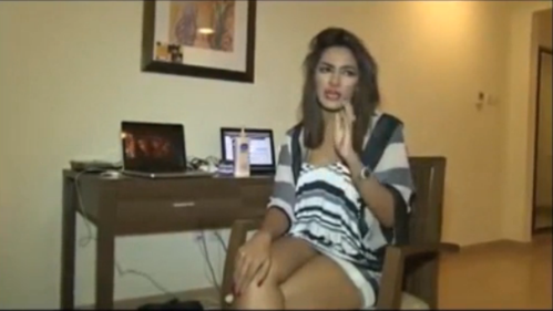 Mathira Caught Drunk on Camera