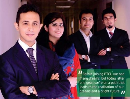 PTCL Job opportunities one year Internship