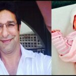 Wasim Akram Blessed With a Baby Girl