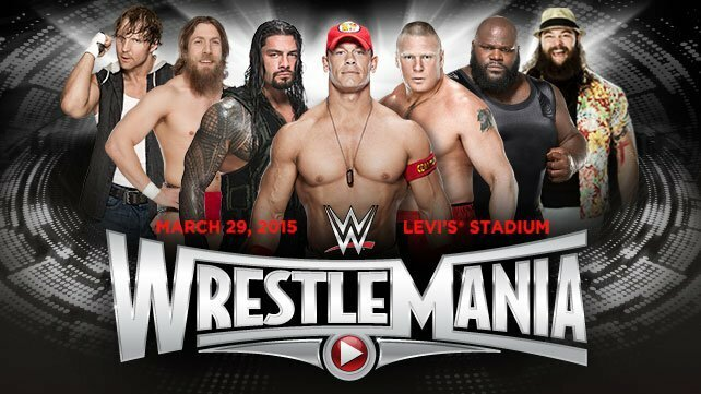 WWE Wrestlemania 2015