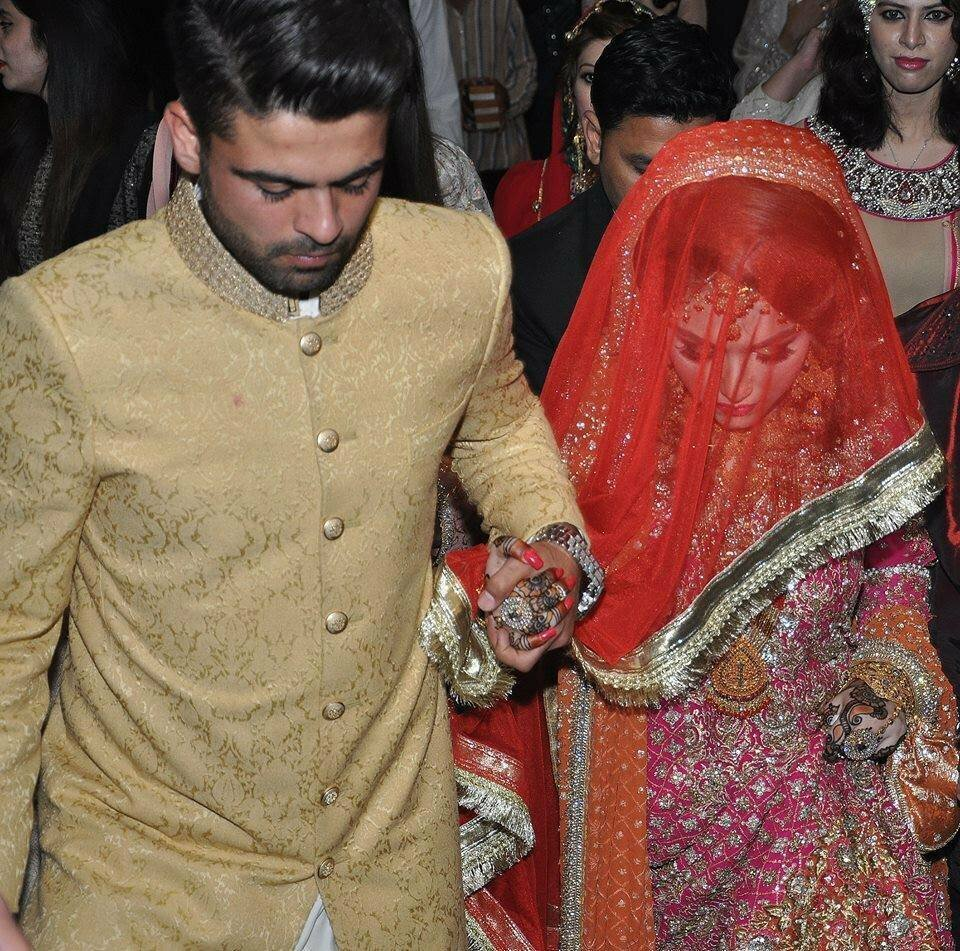 Ahmed Shahzad And His Wife Sana Murad wedding Pictures | Web.pk