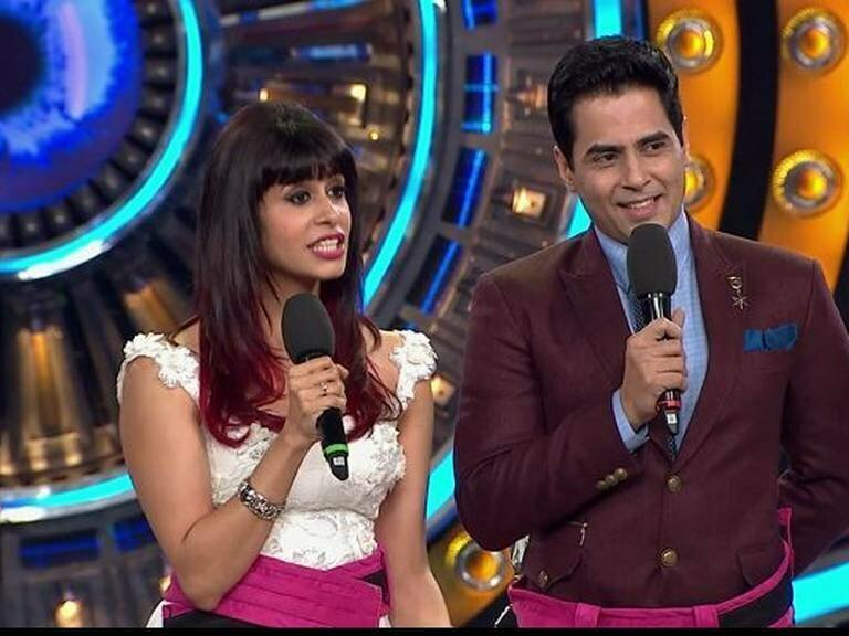 Kishwar Merchant and Aman Verma
