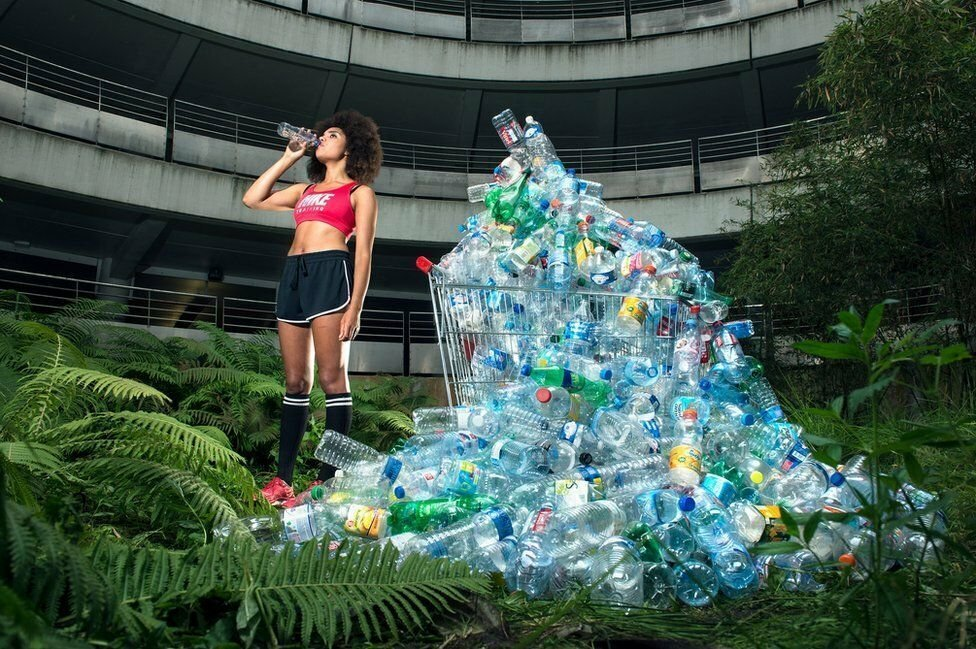 Antoine Repesse's #365, Unpacked series, in the Professional Campaign category, is the result of four years' work during which he collected his recyclable waste.