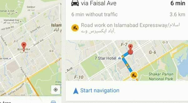 After Live Traffic, Google Turn-by-Turn Voice Navigation Now