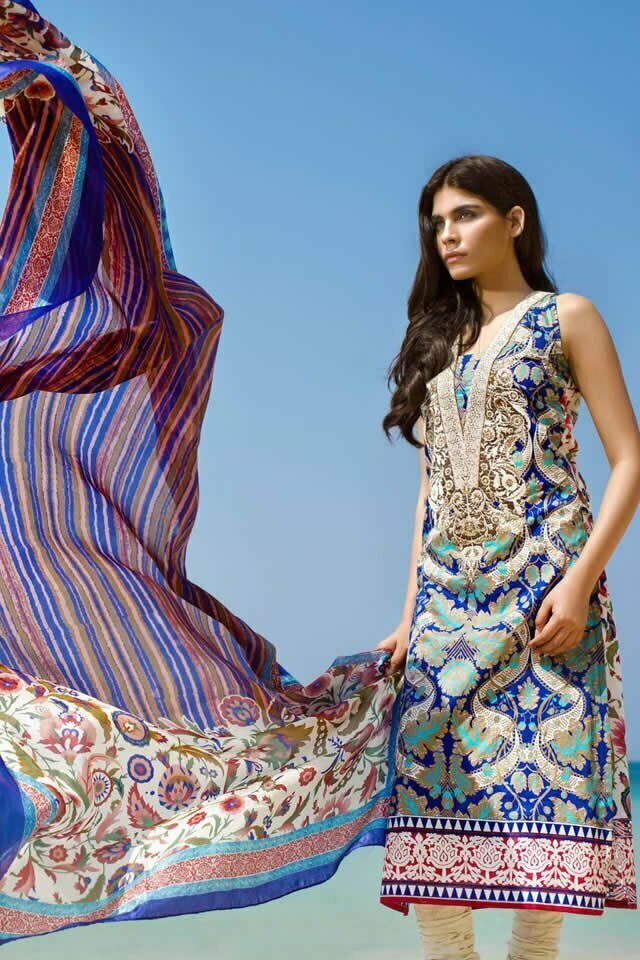 4ce1af4689 Sana Safinaz is the name of the fashion icon in Pakistan. The quality of  Stuff of dresses designed to demands of women regarding the fashion.