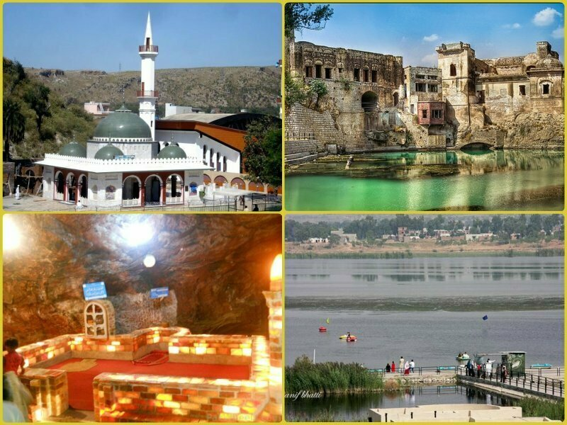 Witness Historical Places Kallar Kahar Lake and Ketas Temples