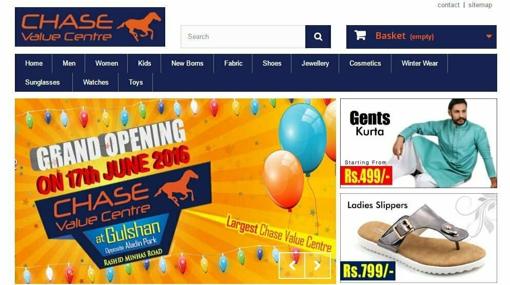 Online eid shopping in pakistan top 6 shopping sites for Best discount stores online