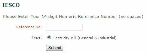 download iesco duplicate electricity bill web pk