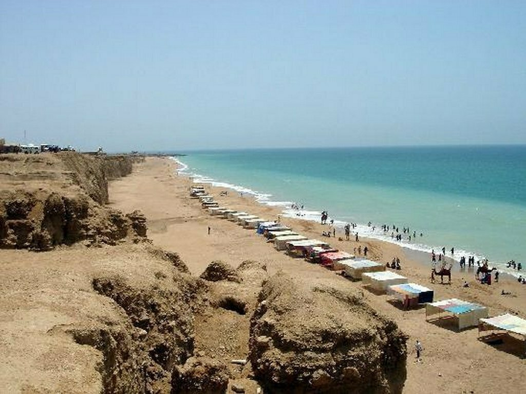 Cape Monze or Ras Muaro, Gadani Beach, Karachi