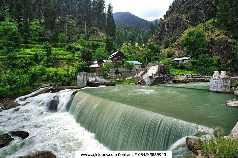 Patika Waterfall - Muzaffarabad District