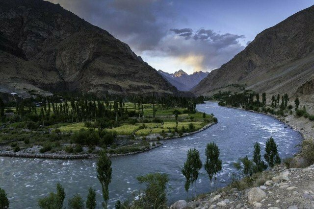 The Mgical Water from Exotic Ghizer River, Gilgit Baltistana