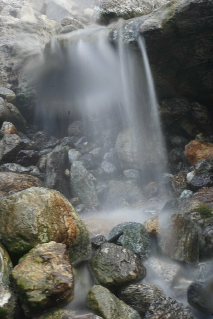 Waterfall in Gilgit-Baltistan locally known as Tata Springs