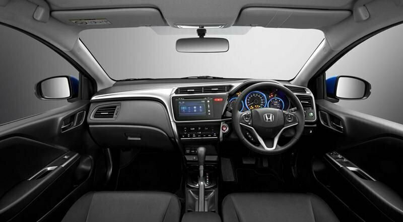 Honda City 2017 interiors with touchscreen